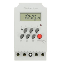 Lighting LCD Screen Electronic Digital Display Office Power Garage Microcomputer Control Programmable Home Timer Switch