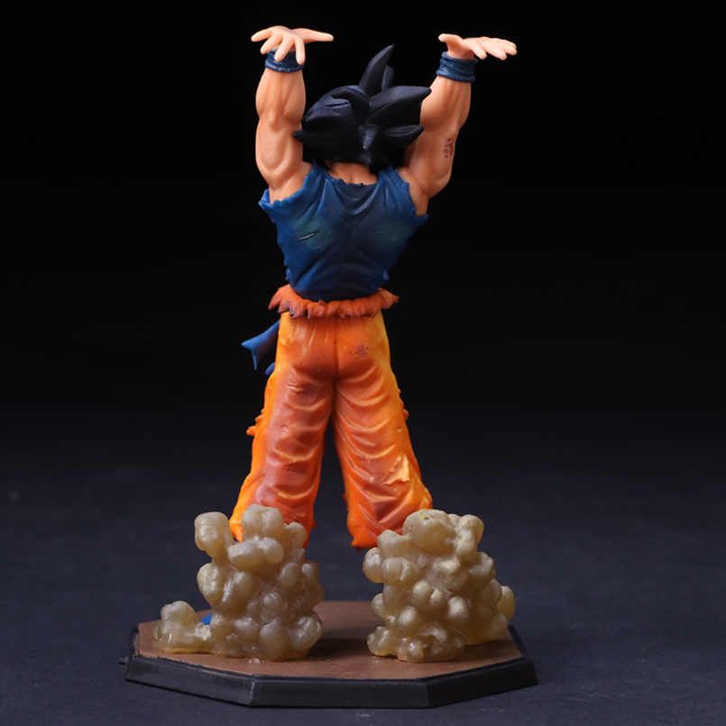 Dragon Ball Figura Coleção Modelo Dragon Ball Z Estatueta 17cm Son Goku PVC Figura Brinquedos Anime Movie & TV bomba espírito