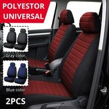 AUTOYOUTH Marke 2PCS Auto Sitzbezüge 5MM Schaum Airbag Kompatibel Universal-Fit Die Meisten Vans Minibus Getrennt Auto Sitz