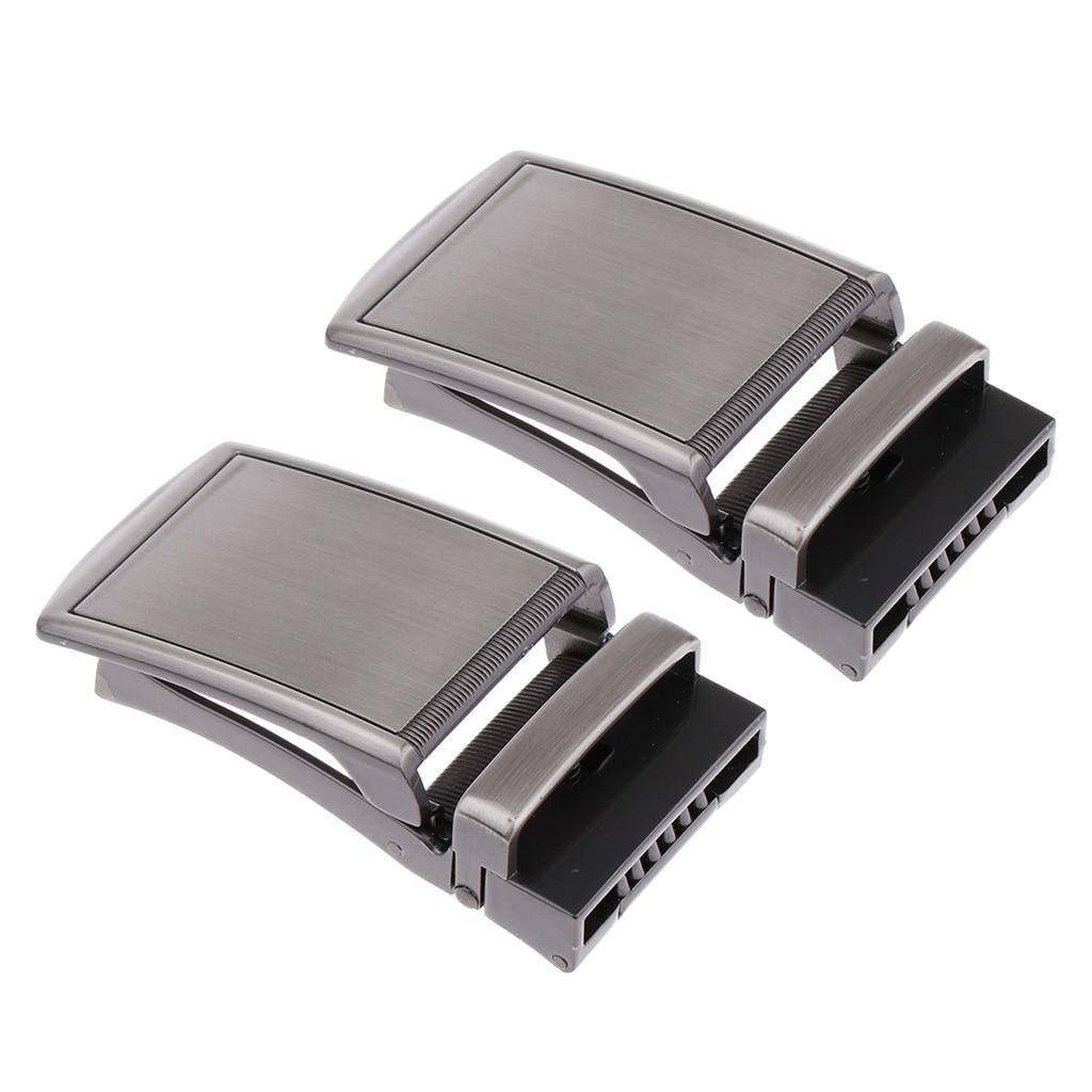 2 Pcs. Automatic Belt Buckle Metal Buckle Buckle For 3.5 Cm Straps Men's Business Buckle Unique Men Plaque Belt Buckles