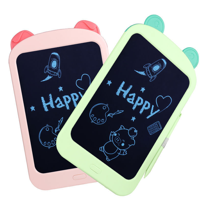 CHILDREN'S Drawing Board LCD Blackboard Magnetic Doodle Board Light Small Blackboard Baby Painted Writing Board Toys