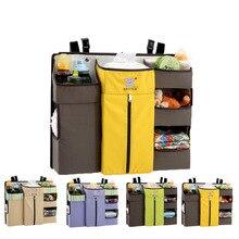 Diaper-Bag Caddy Storage-Bag Crib Bedside-Shelf Multi-Function