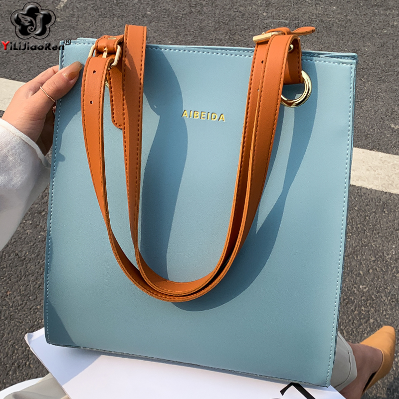 Ladies Handbags Women Fashion Bags Designer Tote Luxury Brand Leather Shoulder Bag Women Top Handle Bag Female Sac A Main 2020