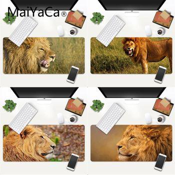 MaiYaCa Your Own Mats Ferocious lion gamer play mats Mousepad Gaming Mouse Pad Large Deak Mat 700x300mm for overwatch/cs go