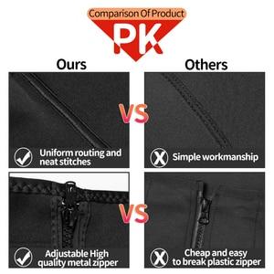 Image 5 - High Compression Waist Trainer Tummy Trimmer Zipper Neoprene Cincher Fitness Corset Body Shapers Slimming Abdominal Belt