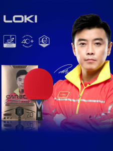 LOKI Table-Tennis-Racket Carbon-Tube Ping-Pong-Paddle Professional 7-Star for Fast-Attack