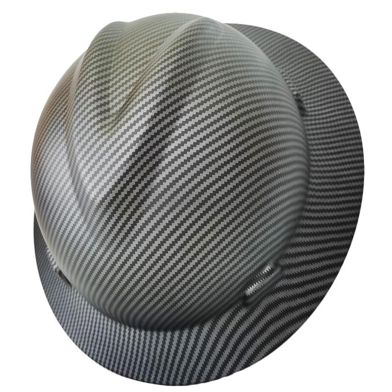 Safety Helmet Wide Full Brim Hard Hat Lightweight High Strength Work Cap Construction Railway Metallurgy Mine Summer Sunshade