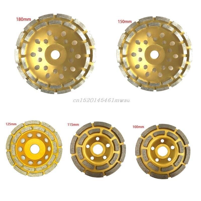 Diamond Segment Grinding Wheel Cup Disc Grinder Concrete Granite Stone Cut New 2019