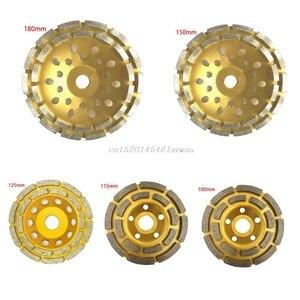 Diamond Segment Grinding Wheel Cup Disc Grinder Concrete Granite Stone Cut New 2019(China)