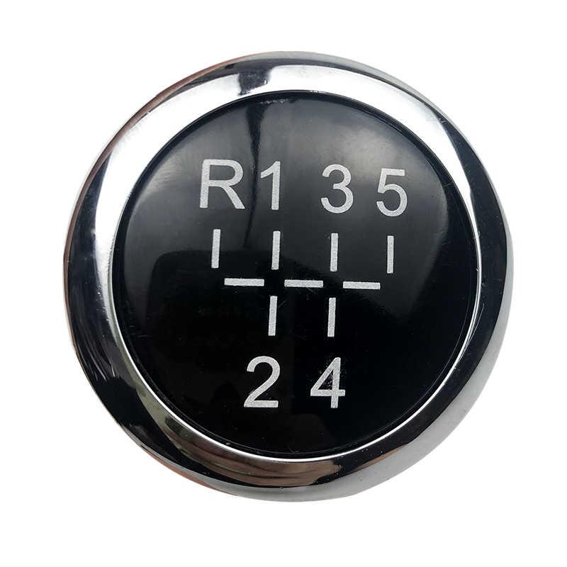 Perilla de palanca de cambios de coche de 5/6 velocidades, emblema del gorro distintivo, tapa superior para VAUXHALL OPEL ASTRA III H CORSA D 2004-2010, accesorios de estilo de coche