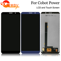 Black/Blue 100% Tested For Cubot Power LCD Display + Touch Screen Digitizer Assembly Phone Replacement With Tools