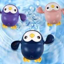 Милая модель плавательного пингвина заводная детская игрушка