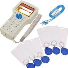 NFC Smart 10 Частота RFID копировальный аппарат писатель считыватель Дубликатор 125 кГц 13,56 МГц USB программист брелок считыватель карт UID декодер