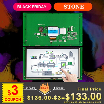 10.1 TFT Display Module with Touch Screen + CPU + Program for Equipment Control Panel 7 0 inch serial lcd display module with program touch screen for equipment control panel