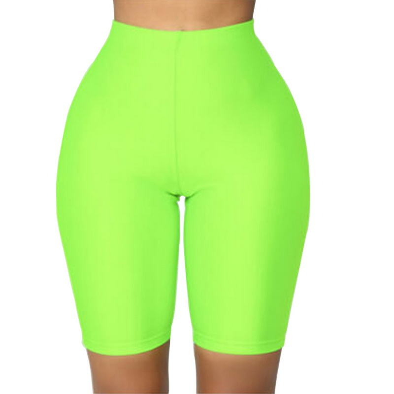 LOOZYKIT Fashion Women Cycling Shorts Dancing Gym Biker Slim Active Sports Solid Color Sexy Skinny Shorts Summer Gym Clothing