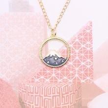 Ожерелье «сделай сам» fuji snow mountain для женщин и девушек