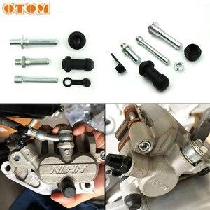 OTOM Brake Caliper Repair Kit Motorcycle Universal Front/Rear Nissin Caliper Guide Pin Rebuild Kit For CRF KXF RMZ YZF Dirt Bike