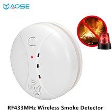 Yaose 433 МГц Беспроводной детектор дыма для pg106 pg103 pg105
