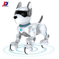 JXDA001 Programable Infrared Remote Control Smart Robot Dog Kids Toys Dancing Intelligent Voice Command Dog Electronic Pet Gifts