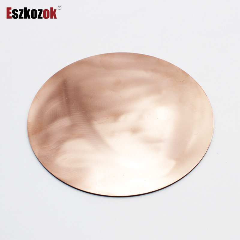 Round Copper Sheet 0.5mm Diameter 50mm To 100mm