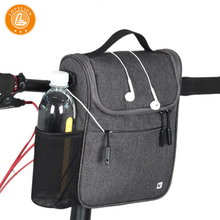 LOVELION Bike large capacity waterproof folding front pack electric car mountain scooter hang battery