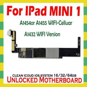 Image 3 - A1432 wifiVersion A1454 o A1455 Originale unlock icloud per Ipad MINI 1 Scheda Madre per Ipad MINI 1 schede Logiche con IOS di Sistema