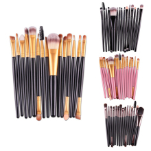 MAANGE 15Pcs Makeup Brushes Tool Set Cosmetic Powder Eye Shadow Foundation Blush Blending Makeup Brush Maquiagem 10pcs professional makeup brushes set powder foundation eye shadow beauty face blusher cosmetic brush blending tools
