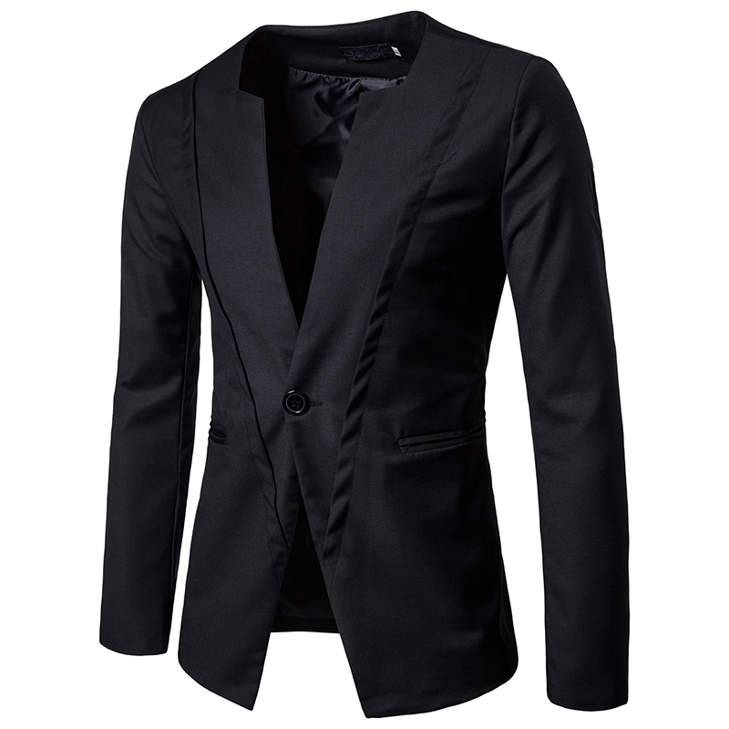 Menne Men Suit Autumn And Winter New Chest Threshold Double-layer Design Men's Fashion Suit