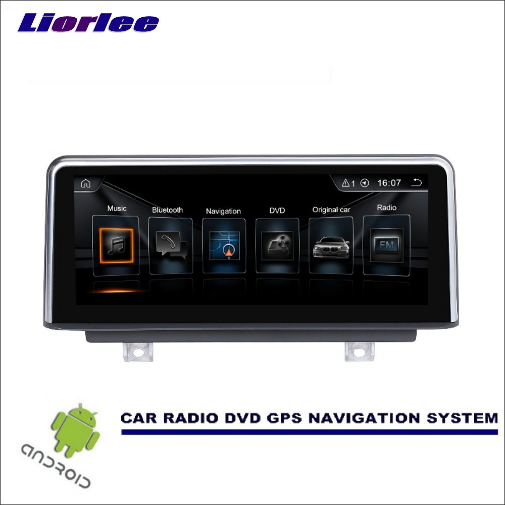 Liorlee For <font><b>BMW</b></font> 1 Series <font><b>F20</b></font>/F21 2011-2016 Car <font><b>Android</b></font> Multimedia Radio Stereo Audio Video Player GPS Navigation <font><b>Screen</b></font> System image