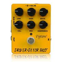 PP-15 Motorista Difor baixo pedal de guitarra acessórios peças pedais de efeitos de guitarra elétrica acústica
