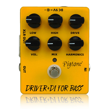 Pigtone PP-15 Driver Difor bass guitar pedal acoustic electric guitar accessories parts effects pedals Real bypas diy mod lovepedal dragon fuzz pedal electric guitar stomp box effects amplifier amp acoustic bass accessories effectors