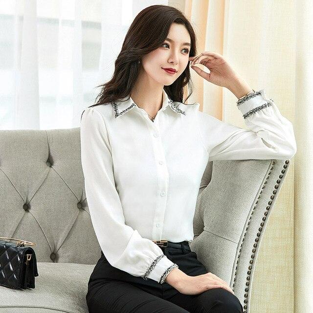 Women Blouses Woman Shirts Tops Long Sleeve Shirt Chiffon Blouse Women Plus Size 5XL FreeShipping Fashion Woman Blouses 2020 6