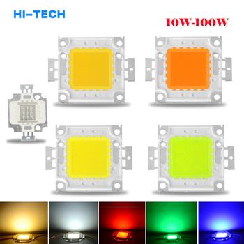 Lampa diodowa LED COB 10W 20W 30W 50W 100W żarówki do reflektora reflektor ogród kwadratowy DC 12V 36V zintegrowane oświetlenie LED tanie i dobre opinie Aamasun CN (pochodzenie) Piłka 12 v other 9-12V 30-36V 29*20 mm 52*46 mm red green blue white warm white RGB