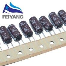 10 Uds 1000uF 16V NIPPON NCC KY serie 10x20mm baja ESR 16V1000uF condensador electrolítico de aluminio
