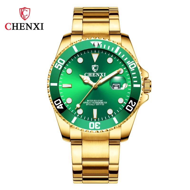 CHENXI Men Watches Business Japan Movement Stainless-Steel Sport Waterproof Casual Luxury