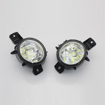 2Pcs For BMW X6 E71 E72 2008 2009 2010 2011 2012 Front LED Fog Light Fog Lamp LED Bulbs With Gifts