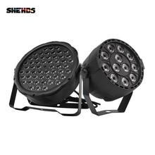 SHEHDS projecteur lumineux de scène Par 12x3W RGBW LED, LED 54x3W DMX512, Machine de projection pour Disco DJ décoration de fête