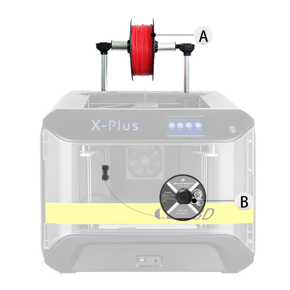 Image 4 - QIDI TECH 3D Printer X Plus Large Size Intelligent Industrial Grade  WiFi Function High Precision Printing 270*200*200mm-in 3D Printers from Computer & Office