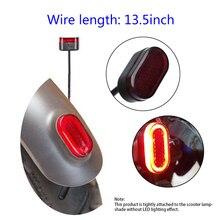 Горячее предложение, светодиодные задние фонари для электрического скутера, заднее крыло, абажур, задний тормозной фонарь для Xiaomi Mijiam365, скутер, скейтборд