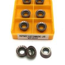 Outil de fraisage en carbure VP15TF R5, outil de fraisage, outils CNC RPMT 10T3, outils de tour, outil de tournage en alliage dur