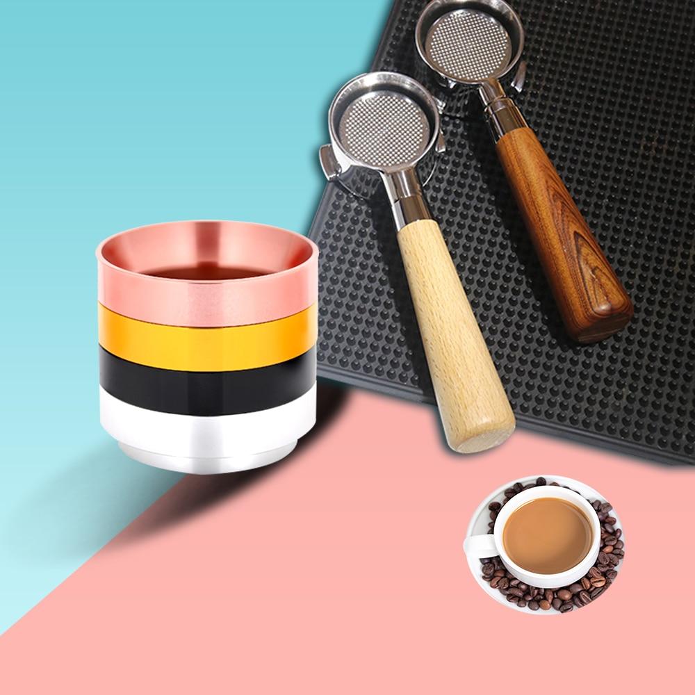 58/51/54 мм Кофе бездонного Portafilter эспрессо дозатором кольцо Воронка Универсальный Кофе цилиндр Cachter порошок Кофе чайник Инструмент|Темперы для кофе|   | АлиЭкспресс
