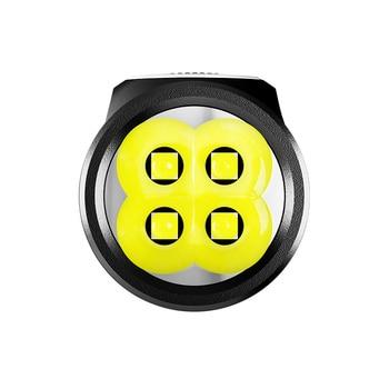 NITECORE E4K LED Flashlight CREE XP-L2 V6 4400 LM High Power Survival Flashlight with 21700 5000mah Battery for Outdoor Camping 5