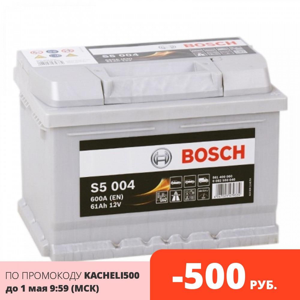 BOSCH Аккумулятор S5 61 Ah 600А SILVER Plus оп (0092S50040)