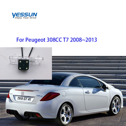 Yessun Auto Car Accessories Night Vision Car Rear View Reverse IP67 For Peugeot 308CC T7 2008~2013