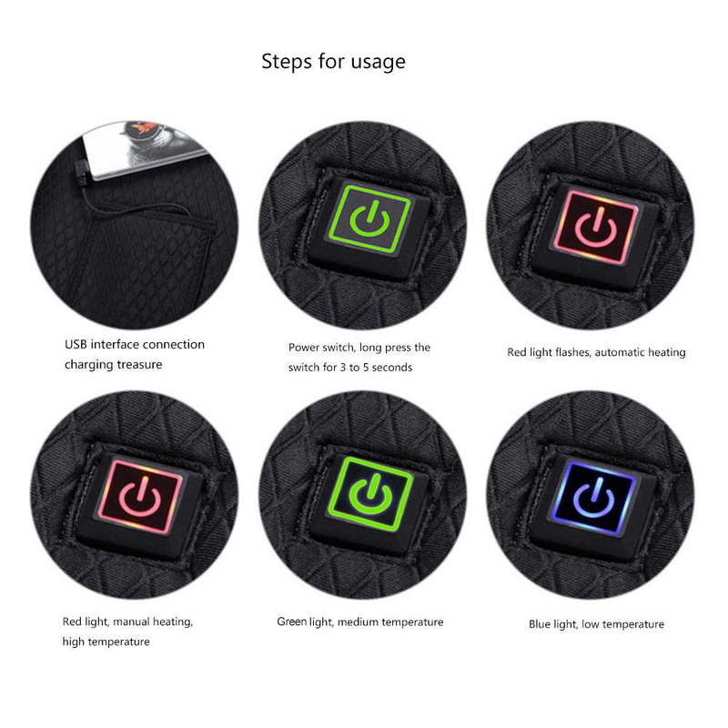 USB Infrared Heated Vest 4