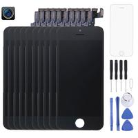 10 PCS LCD Screen and Digitizer Full Assembly with Front Camera for iPhone 5S