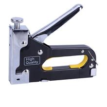 3-в-1 гвоздодер заклепка пистолет инструмент металл рука заклепка руководство изделия из дерева скоба пистолет портативный гвоздь пистолет для DIY дома украшения обрамление гвоздь