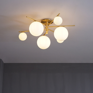 Nordic master bedroom ceiling