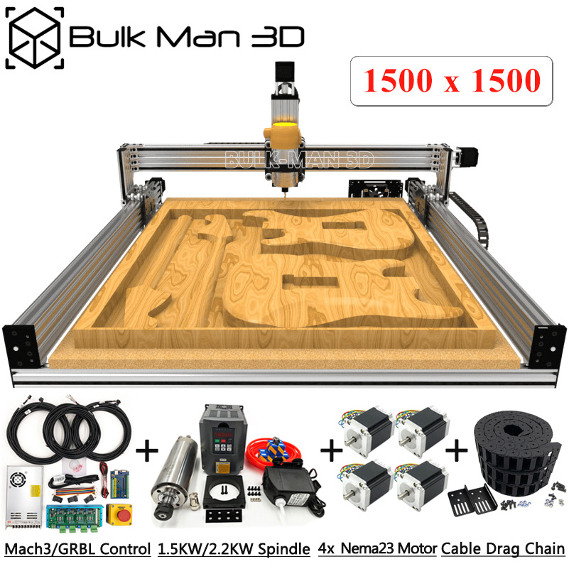 <font><b>1515</b></font> Lead CNC Full Kit Lead CNC Router Machine Full kit Carving Engraving machine 1500mmx1500mm image