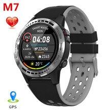 M7S Smart Horloge Gps Fitness Tracker Ondersteunt Sim kaart Bluetooth Call Hartslag Slaap Monitoring IP67 Waterdichte Smartwatch